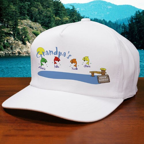 Personalized Fishing Buddies Hat