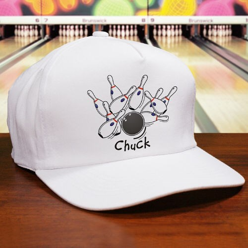 Personalized Bowling Hat for Dad