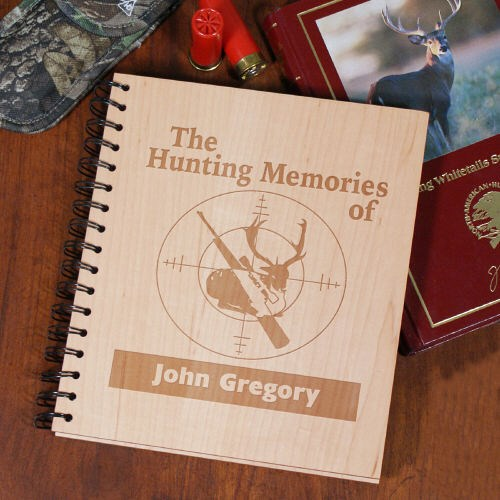 Personalized hunting photo album giftsforyounow for Hunting and fishing gifts
