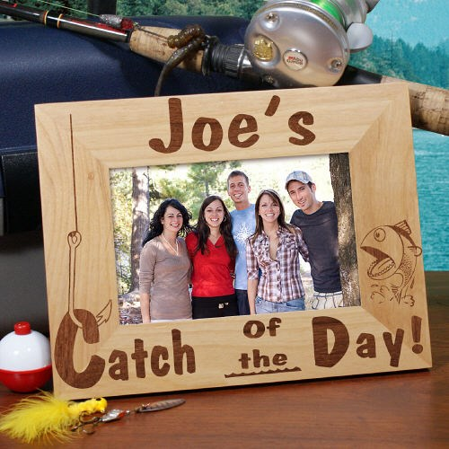 Catch of the Day Picture Frame