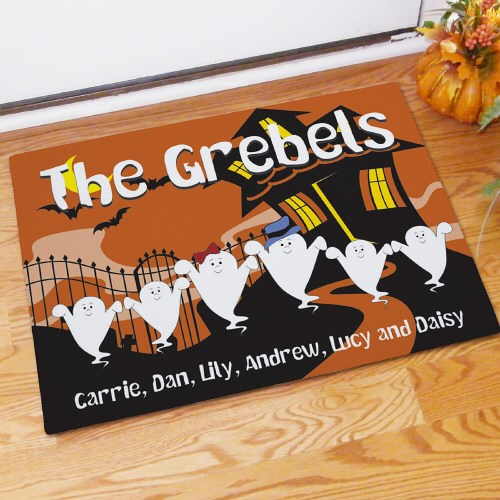 Custom Printed Halloween Doormat