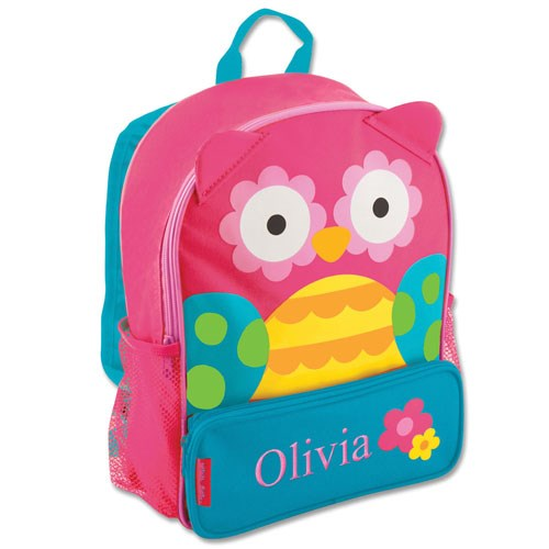 Personalized Owl Backpack E000267