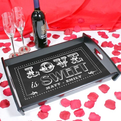Personalized Couples Serving Tray 48219ST