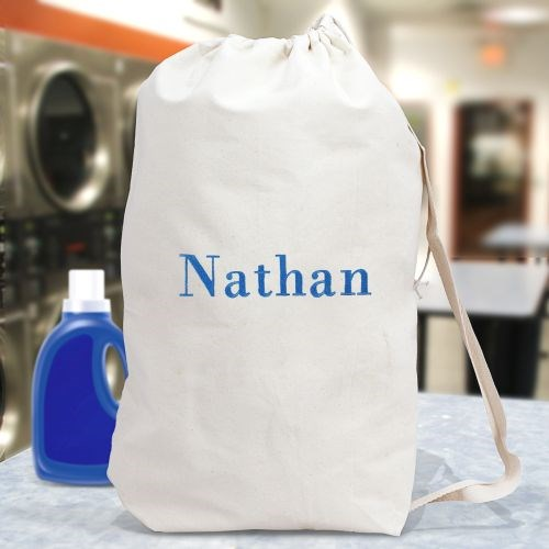 Embroidered Any Name Laundry Bag 6867782
