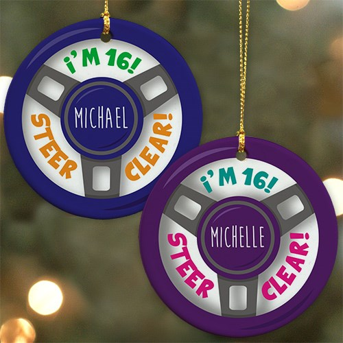 New Driver Personalized Christmas Ornament U799810