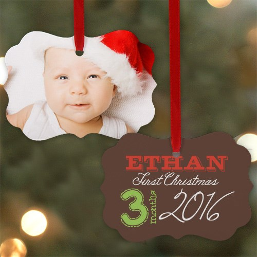 First Christmas Photo Ornament U962730