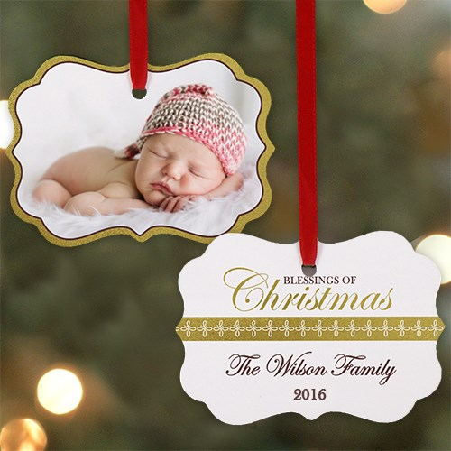 Blessings of Christmas ornament U972130