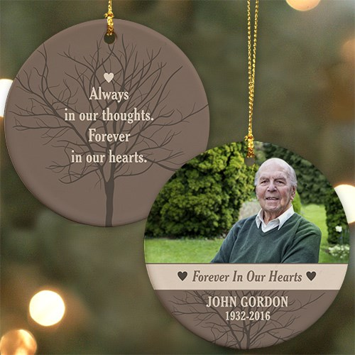 Forever In Our Hearts Photo Ornament U976810