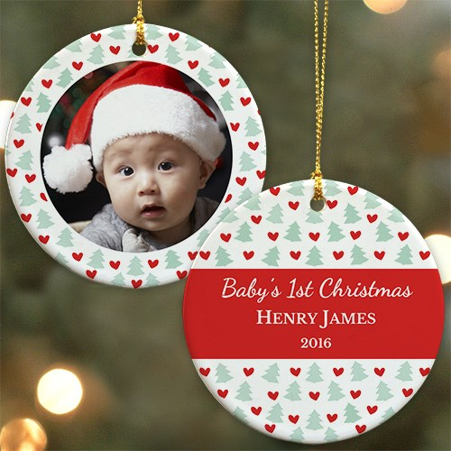 First Christmas Photo Ornament U977710