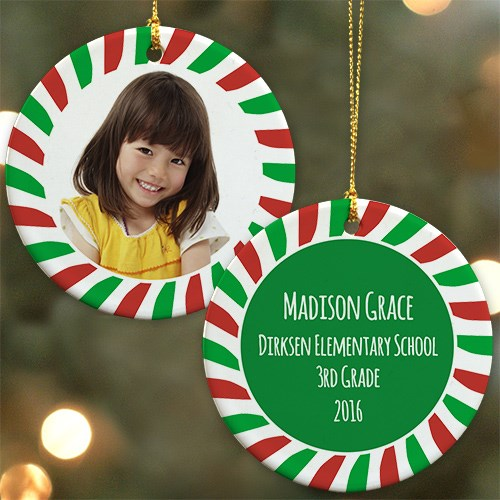 All About Me Personalized Ornament | Personalized Christmas Ornaments for Kids
