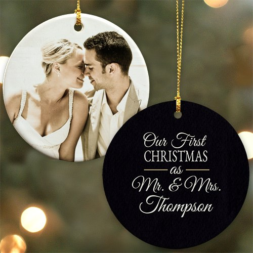 Our First Christmas Personalized Ornament U982910