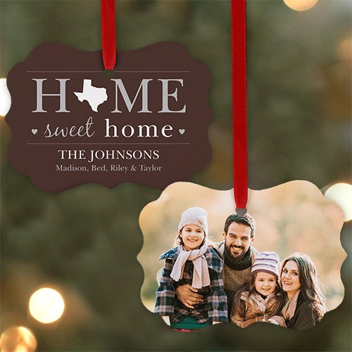 Home Sweet Home Photo Ornament U985930