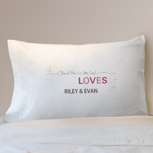 Personalized Love Pillowcase 83073330
