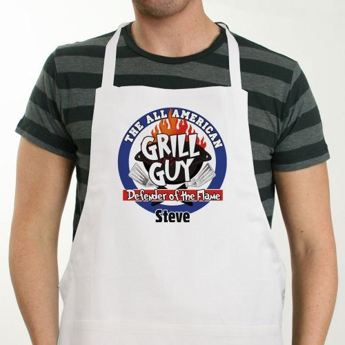 All American Grill Guy Personalized BBQ Apron 828097