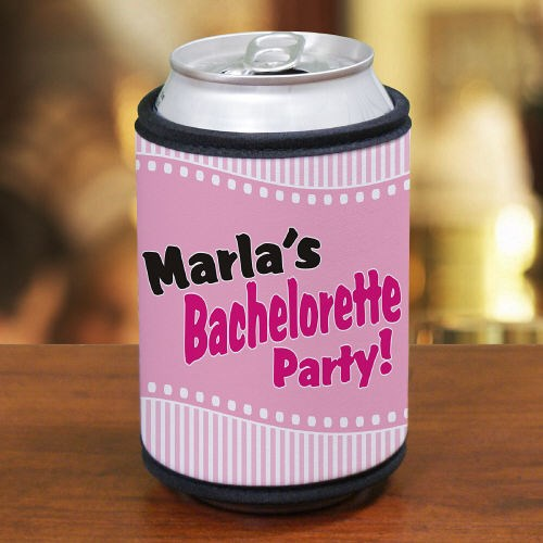 Personalized Bachelorette Party Koozies
