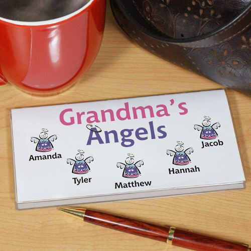 Little Angels Checkbook Cover