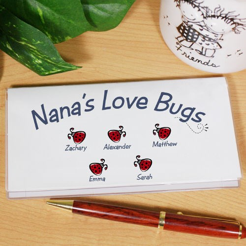 Love Bugs Checkbook Cover