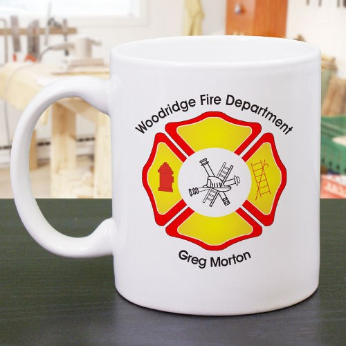 Fire Department Mug