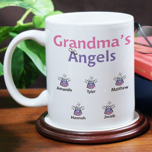 Custom Printed Grandma Coffee Mugs