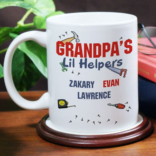 Personalized Little Helpers Coffee Mug