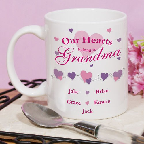 Personalized Our Hearts Coffee Mug