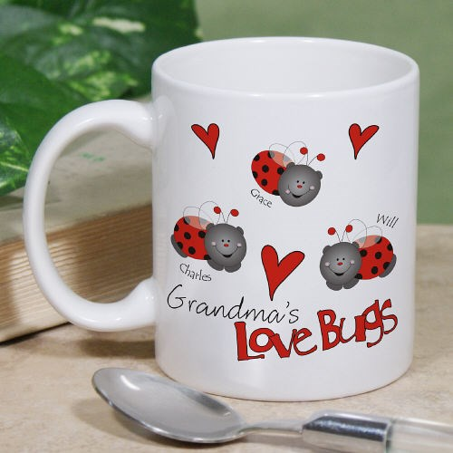 Personalized Lady Bugs Coffee Mugs