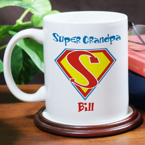 Personalized Fathers Day Mug