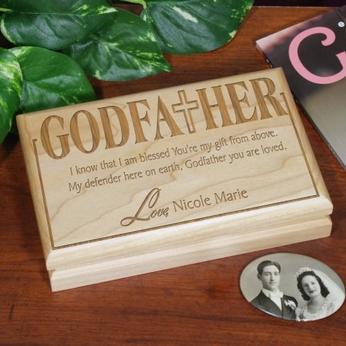 Godfather Personalized Valet Box