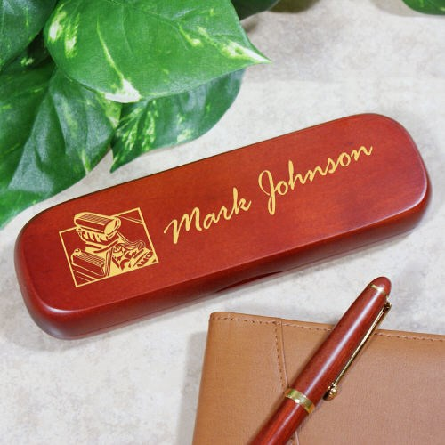 Personalized Hot Rod Pen Set for Him