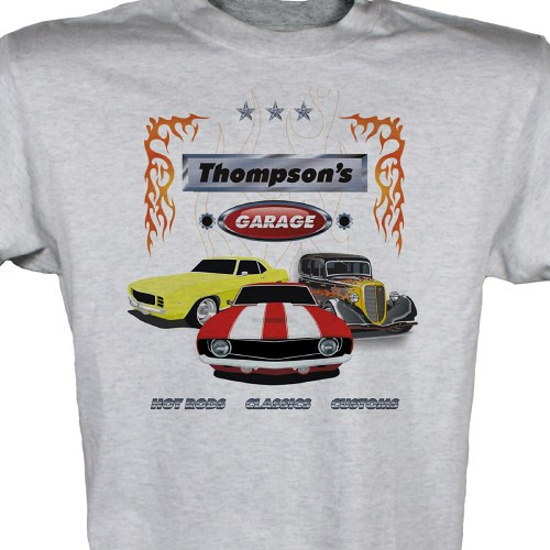 Personalized Hot Rod Classic Custom Car T-Shirts