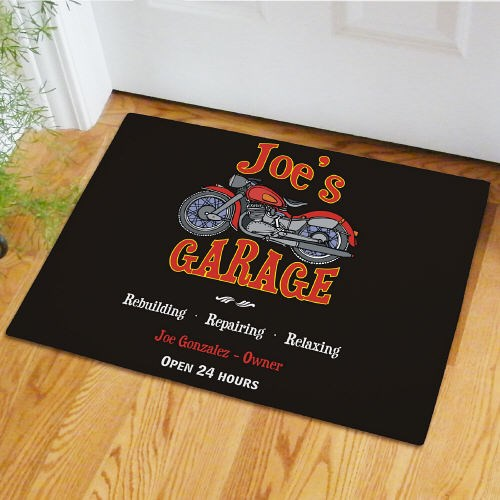 Custom Printed Garage Doormat