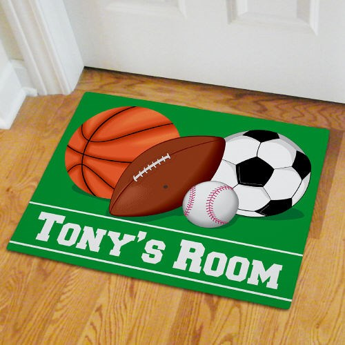 Custom Printed Sport Fan Door Mats