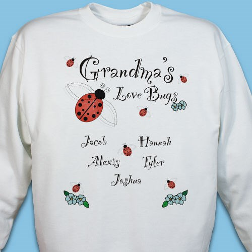 Custom Printed Love Bugs Sweatshirt