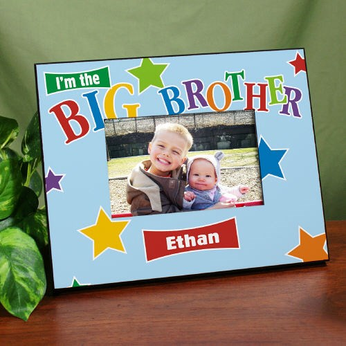 Personalized Big Brother Frame