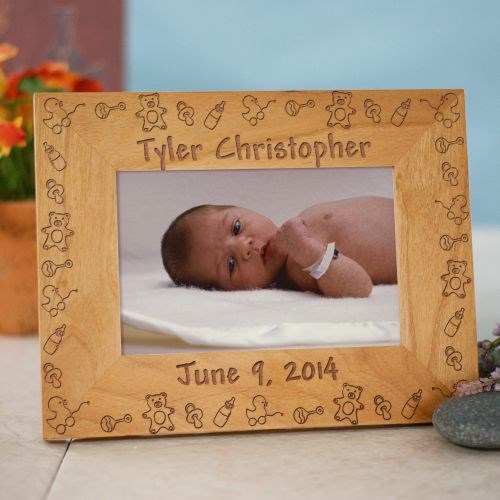 Personalized New Born Baby Picture Frame