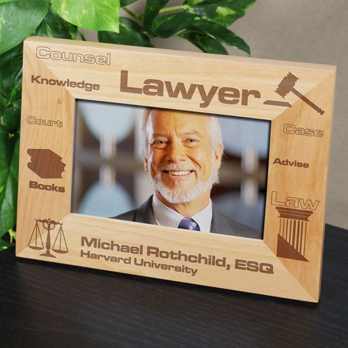 Lawyer Picture Frame