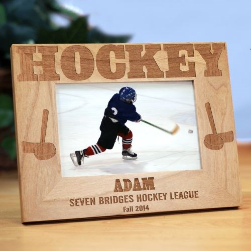 Hockey Wood Picture Frame 934331