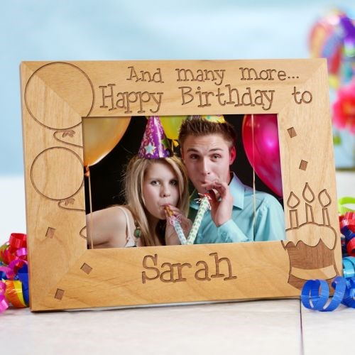 Personalized Birthday Photo Frame