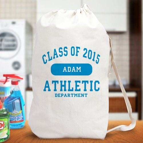 Personalized Graduate Laundry Bag