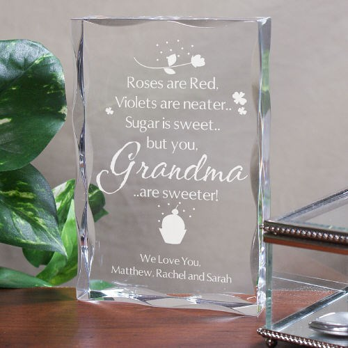 Personalized Grandma Keepsake