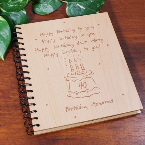 Personalized Birthday Photo Album for Any Age