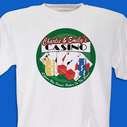 Personalized Poker Shirt