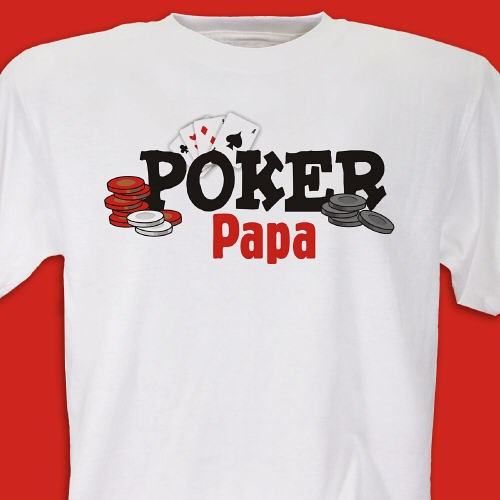 Personalized Poker Shirt for Dad