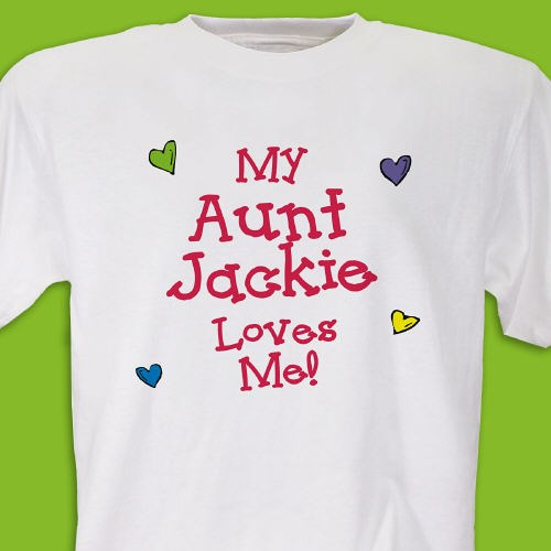 custom printed who loves me t-shirt