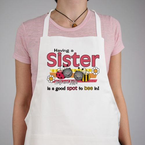A Good Spot To Be In Sisters Personalized Apron