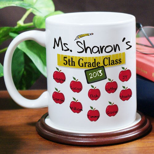 Custom Printed Teacher Coffee Mug
