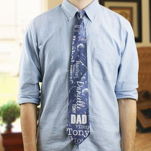 Personalized Word-Art Tie for Him 894711